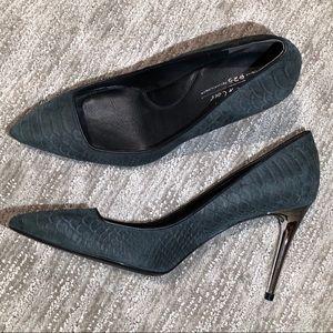 Kenneth Cole Snakeskin Heels